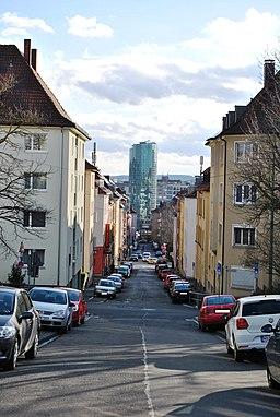 Wagnerstraße in Würzburg
