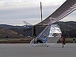 DaSH PA human powered airplane, first flight landing.jpg