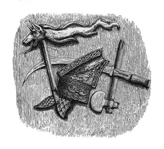 Cotiso - symbols of the Dacian kingdom