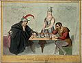 Daniel O'Connell plays chess with Lord Melbourne while Brita Wellcome V0050234.jpg