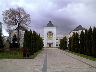 Danilov Monastery, the residence of the Patriarch and the Holy Synod Danilov monastery 16.jpg