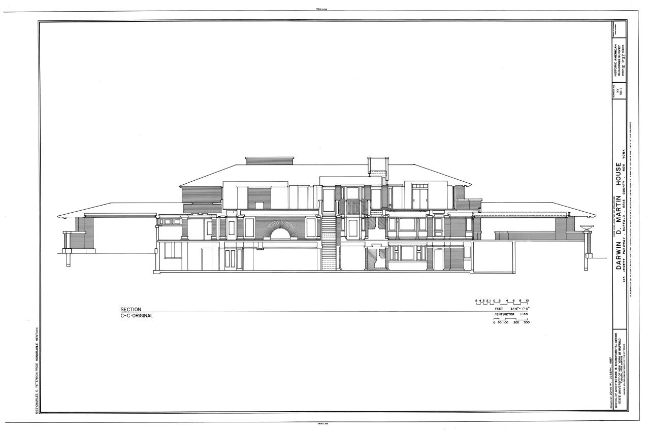 darwin d martin house plans d home plans ideas picture