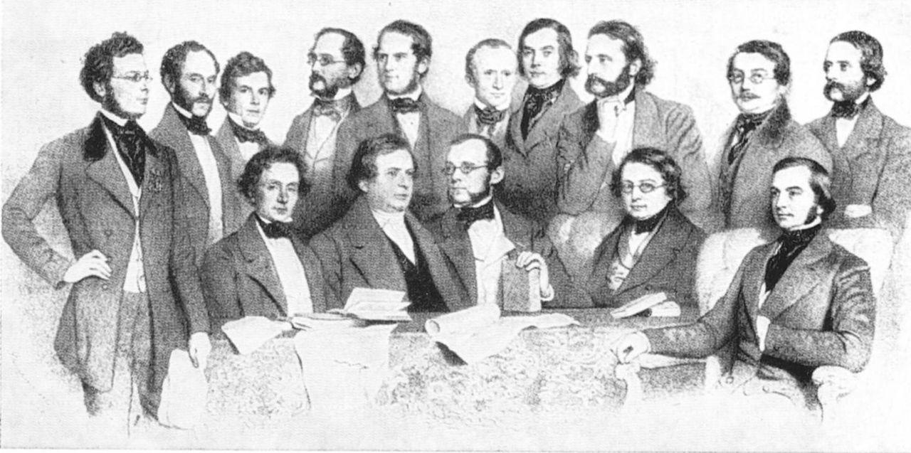 Das Wiener Professoren Kollegium 1853.jpg