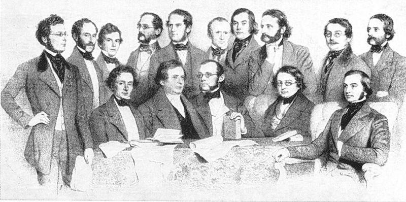 File:Das Wiener Professoren Kollegium 1853.jpg