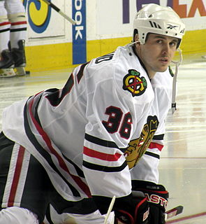Dave Bolland Canadian ice hockey player