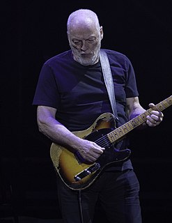 David Gilmour English guitarist of Pink Floyd