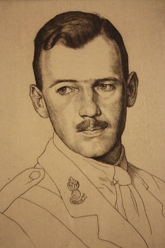 William Strang - David Strang by William Strang, c.1915