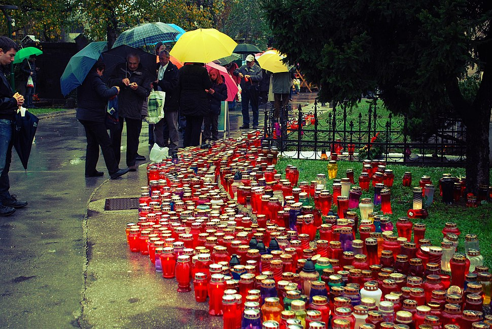 Day of the Dead at Žale 2012