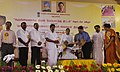 Dayanidhi Maran releasing the Course Book of ATDC (Apparel Training and Design Centre) – SMART courses at the function for the National launch of the Integrated Skill Development Scheme in Chennai on October 08, 2010.jpg