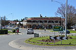 Daylesford Hotel and Roundabout.JPG