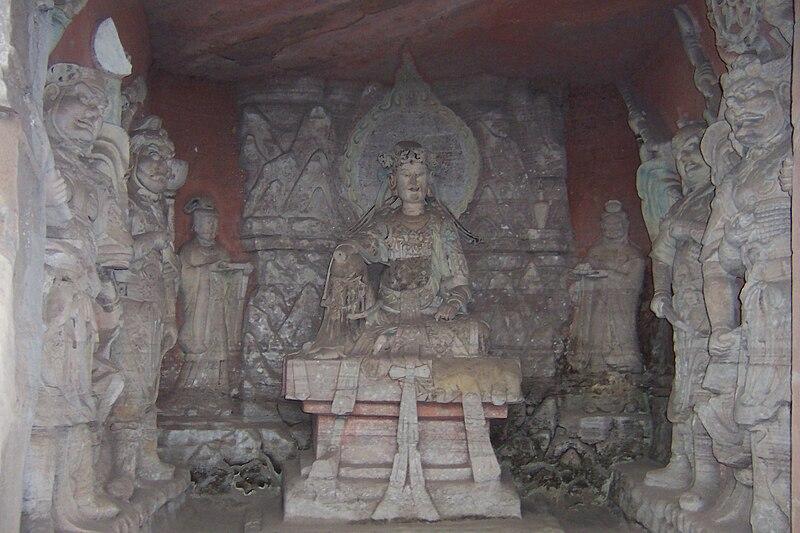 Dazu rock carvings beishan 1.JPG
