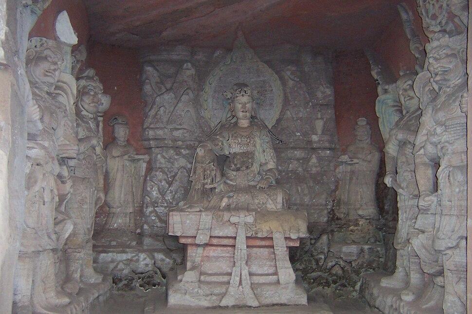 Dazu rock carvings beishan 1
