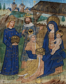 14th century Flemish miniature
