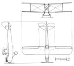 De Havilland DH.60 Cirrus Moth 3-view L'Aéronautique May,1927.png