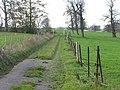 Dead end track, Waldershare - geograph.org.uk - 1597661.jpg