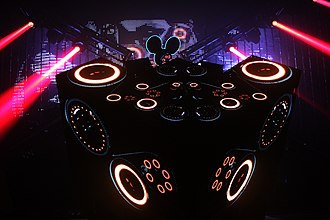 Deadmau5 - Deadmau5 performing at the Austin Music Hall, 2011