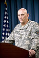 Defense.gov News Photo 100604-D-7203C-001 - Commander of U.S. Forces-Iraq Gen. Ray Odierno U.S. Army delivers an operational update on the state of affairs in Iraq during a press briefing.jpg