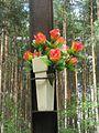 Dekoracja krzyża przydrożnego - Stefanowice - 000774c.jpg