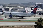 Delta Air Lines, Boeing 767-332(ER)(WL), N1603 - LAX (22313385299).jpg