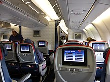 Delta air lines wikip dia for Interieur boeing 757