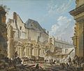 Demolition of the Old Vestibule of the Palais-Royal, Paris.jpg