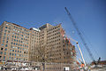 Demolition of the former hospital building at Naval Station Great Lakes.jpg