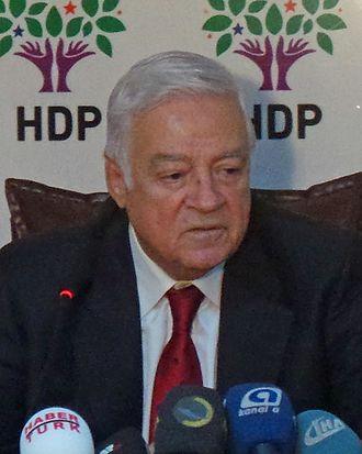 June–July 2015 Turkish Parliament Speaker election - Image: Dengir Mir Mehmet Fırat 2015 March (cropped)