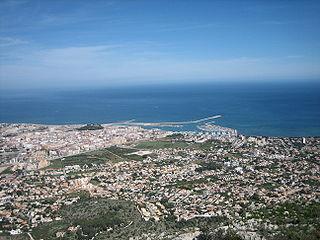 Dénia Municipality in Valencian Community, Spain
