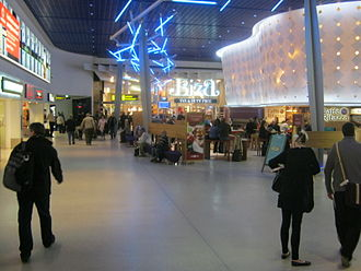 Manchester Airport - A departure hall at Terminal 1