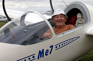 Derek Piggott - Derek Piggott in his natural habitat at the Lasham Regional Competition in 2005
