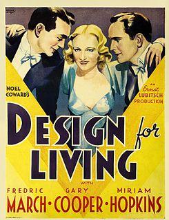 <i>Design for Living</i> (film) 1933 American film