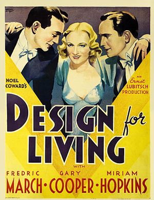 Design for Living (film) - Image: Designforliving 1933
