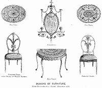 George hepplewhite wikipedia la enciclopedia libre for Furniture styles wiki