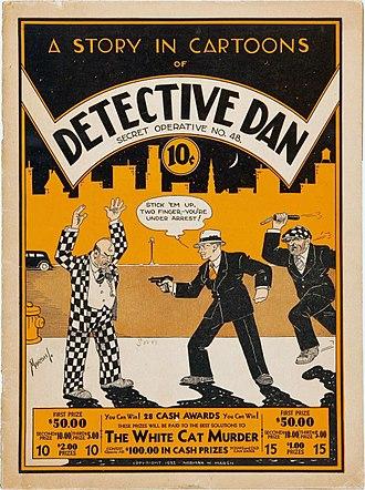 Dan Dunn - Image: Detective Dan Secret Operative 48 (Humor Publishing, May 1933)