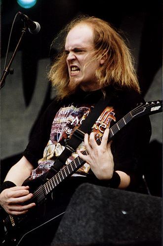 Devin Townsend - Townsend performing at the Wâldrock Festival, Netherlands (June 30, 2001).