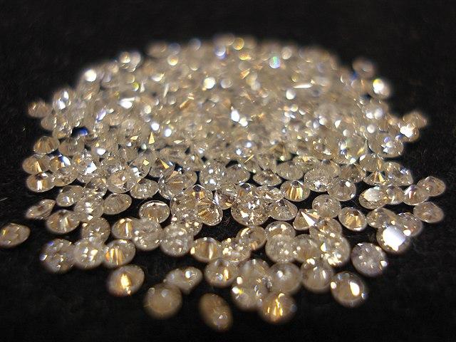 Vybrúsené diamanty