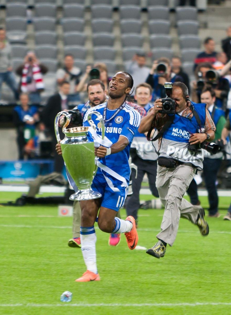 Didier Drogba Champions League Winner 2012
