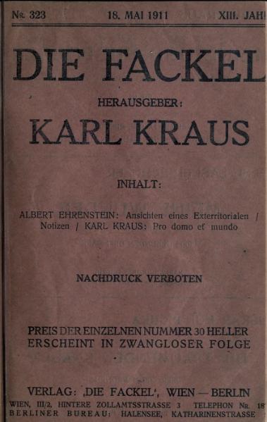 File:Die Fackel Nr. 323.djvu
