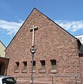 Die protestantische Melanchthonkirche gehört zu den etwa 50 Bartingschen Notkirchen, die zwischen 1948 und 1950 in Deutschland gebaut wurden. - panoramio.jpg