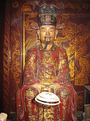 Đinh Phế Đế - A statue of emperor Đinh Phế Đế in Hoa Lư