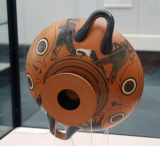 Eye-cup - Outside of the Dionysus cup