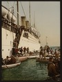Disembarking from a ship, Algiers, Algeria-LCCN2001697828.tif