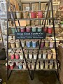 Display of soybean wax candle in Texas store.jpg