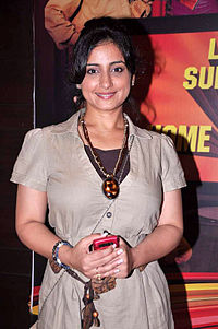 Divya Dutta at the First look launch of 'Heroine' 18.jpg