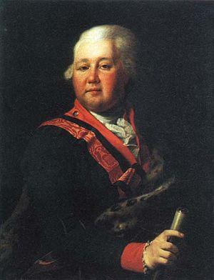 Valentin Platonovich Musin-Pushkin - Count Valentin Musin-Pushkin