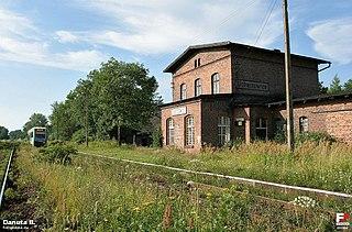 Doboszowice Village in Lower Silesian, Poland