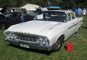 Dodge Dart - The Dodge RD4 Phoenix was an Australian assembled variant of the 1961 Dodge Dart Phoenix