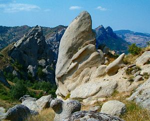 Dolomiti lucane - Karstic landscape of the range