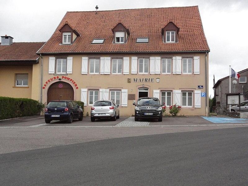 Dolving (Moselle) mairie