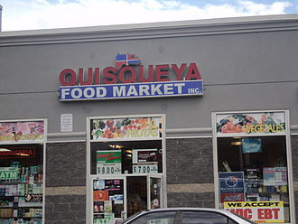 Dominican Americans - A Dominican American grocery store.
